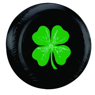 Four Leaf Clover Spare Tire Cover | It's a Jeep thing ...