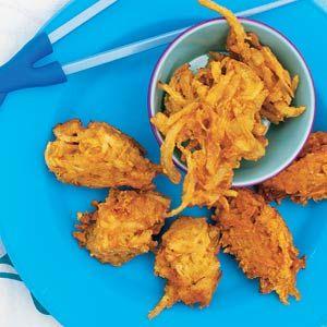Indiase beignets. kan ook met bloemkool, oid