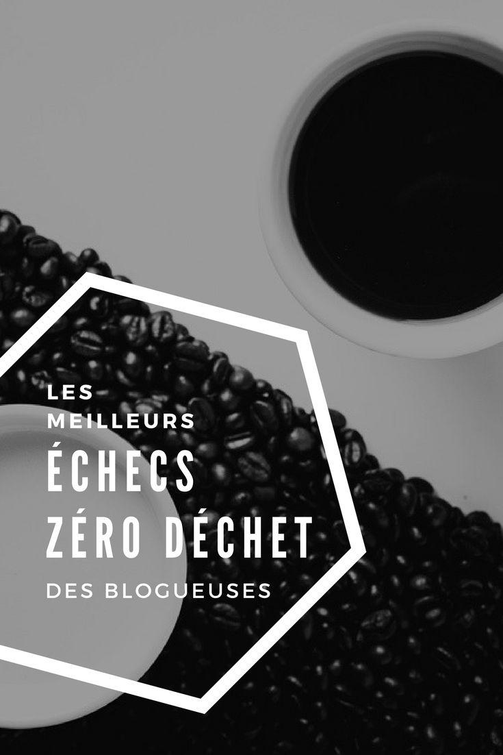 J'ai eu envie de tordre le cou aux idées reçues en vous partageant les meilleurs échecs de mes amies blogueuses zéro déchet.