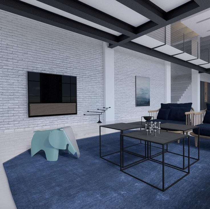 A modern warehouse living room featuring the BeoVision 14! Thank you @kaergaard_visualization for sharing this cool photo on Instagram.