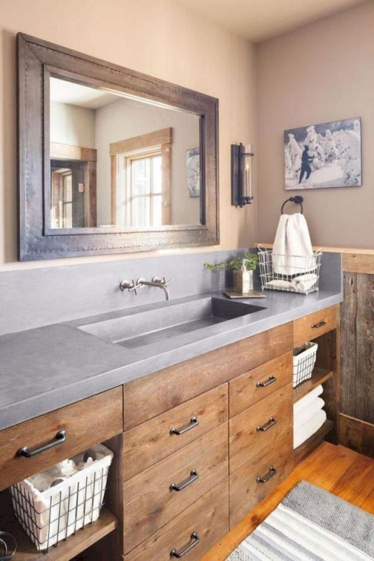 47 Beautiful Farmhouse Bathroom Design and Decor Ideas You Will Go Crazy