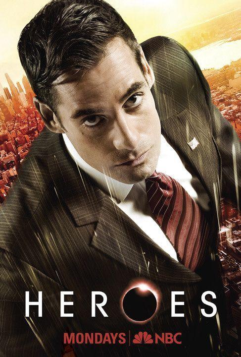 HEROES | season 3 | #nbc | 2008 | Adrian Pasdar | #NathanPetrelli