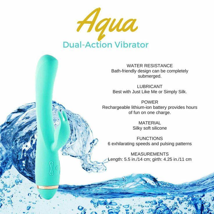Kalypso - Aqua the fual-action vibrator