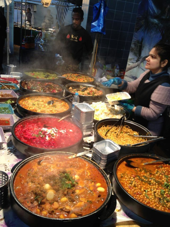 Brick Lane (Best Curry): Curry houses that line both sides of this famous lane in East London stretch on for nearly a mile. Men wait outside each restaurant trying to tempt you in with great deals, but take a walk down the lane first to find the best offerings. - Explore the World with Travel Nerd Nici, one Country at a Time. http://TravelNerdNici.com