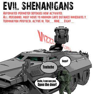 Evil Shenanigans!!!!!