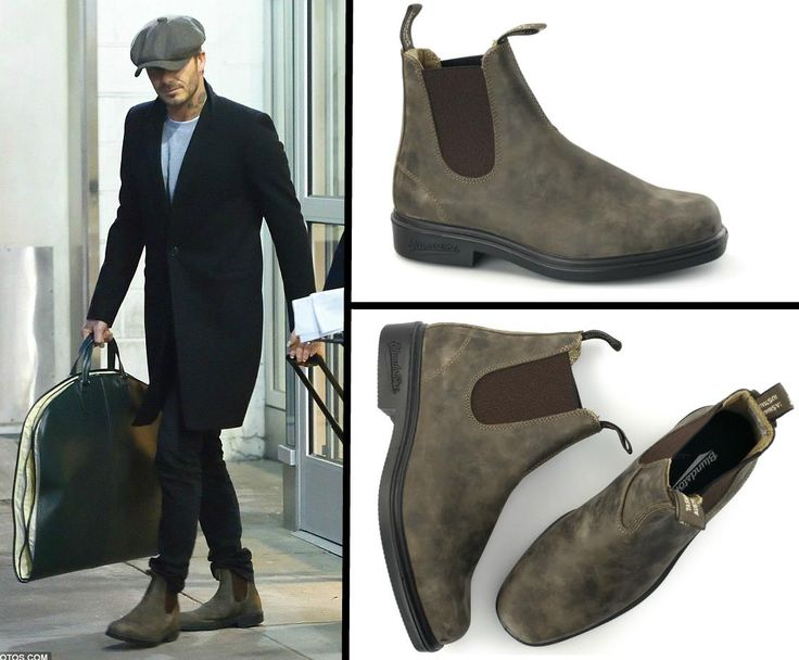 Boot it like Beckham with a pair of Blundstone 1306