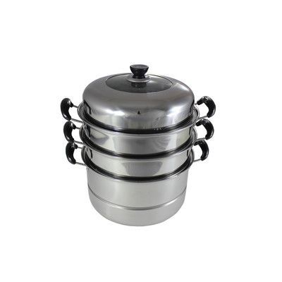 Concord 3 Tier Steamer with Lid Size: 30 CM