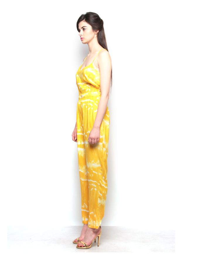 Strappy Jumpsuit. Visit for more styles ➤ www.boutique.in/