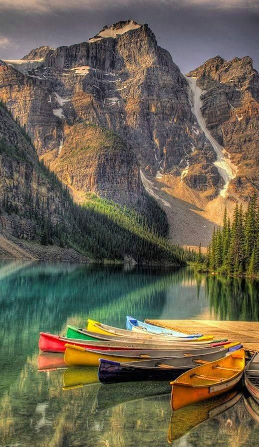 Banff National Park in the Canadian Rockies of Alberta, #Canada.