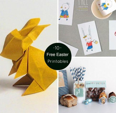 10 Free #Easter #Printables
