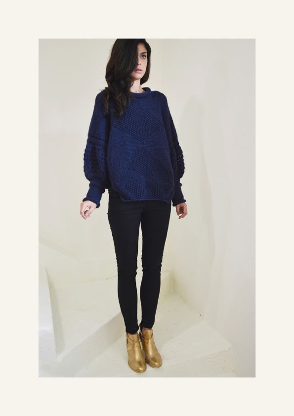 AW14/15 Organic Wool Knitwear Jumper