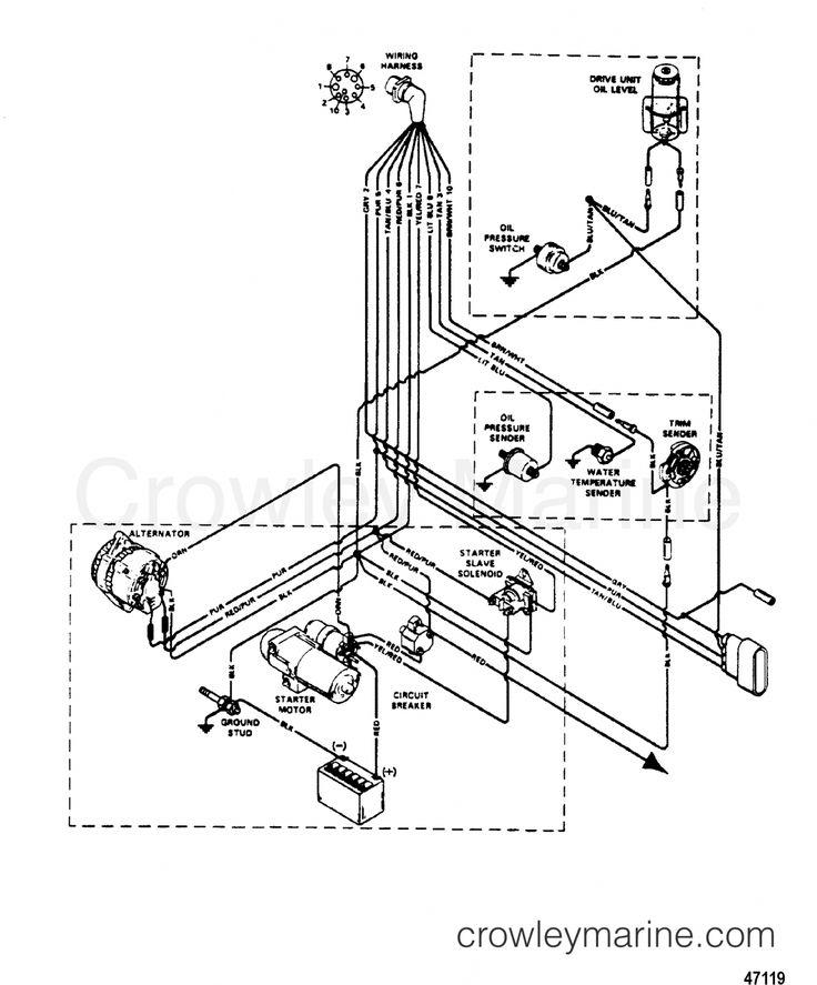 Mercruiser 140 Engine Wiring Diagram and Mercruiser