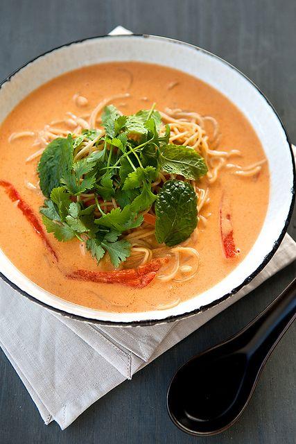 veggie laksa, by Photo-copy Ann via Flickr.