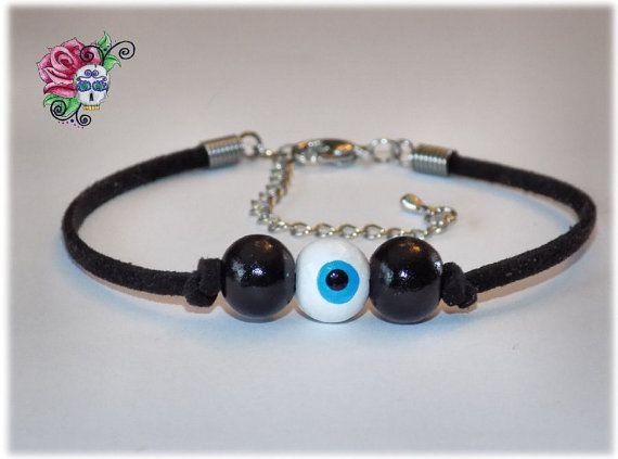Bracelet Mauvais Oeil Protection Richesse par ValniDesignsJewelry