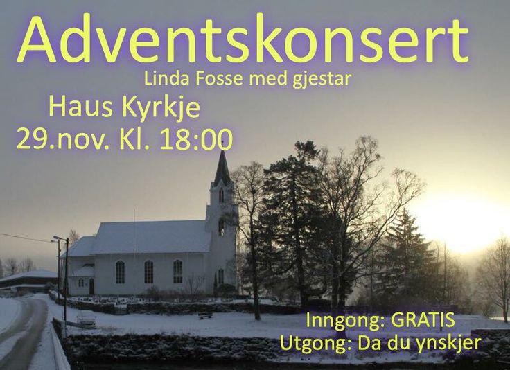 Adventskonsert med Linda Fosse