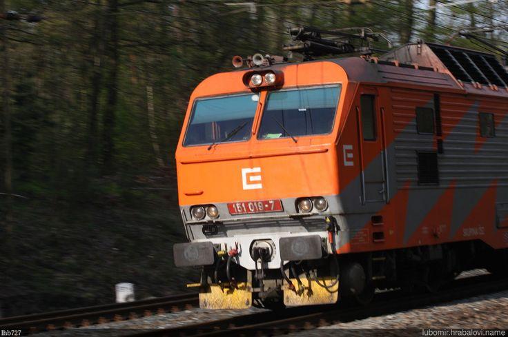https://flic.kr/p/QGEXya | Reklamka 151.019 | Reklamní lokomotiva ČD 151.019 ČEZ