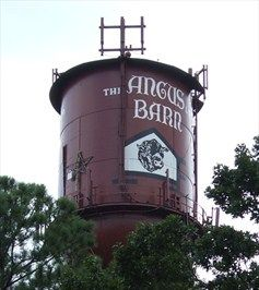 Angus Barn Water Tower, Raleigh, North Carolina soooooooo good love the Angus Barn