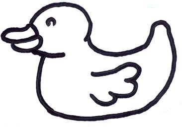 Duck hand puppet template - Google Search