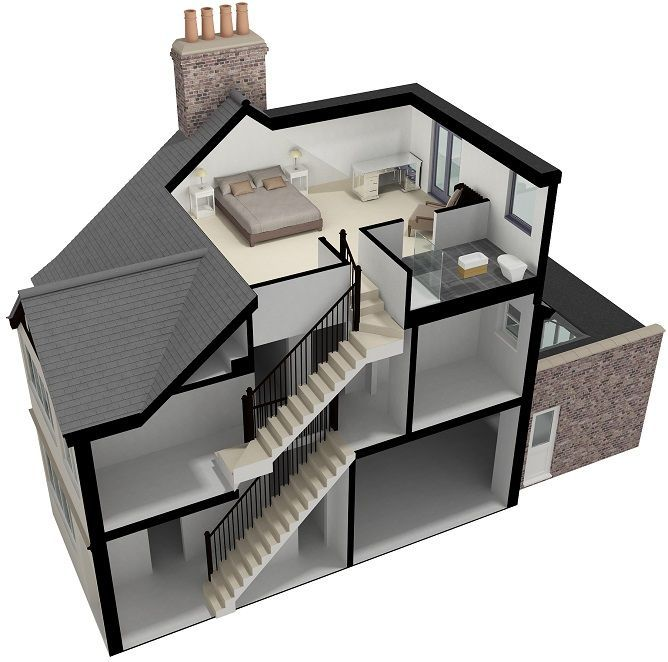 Dormer Loft Extensions A Homify Guide: Image Result For Adding Ensuite To Loft Conversion