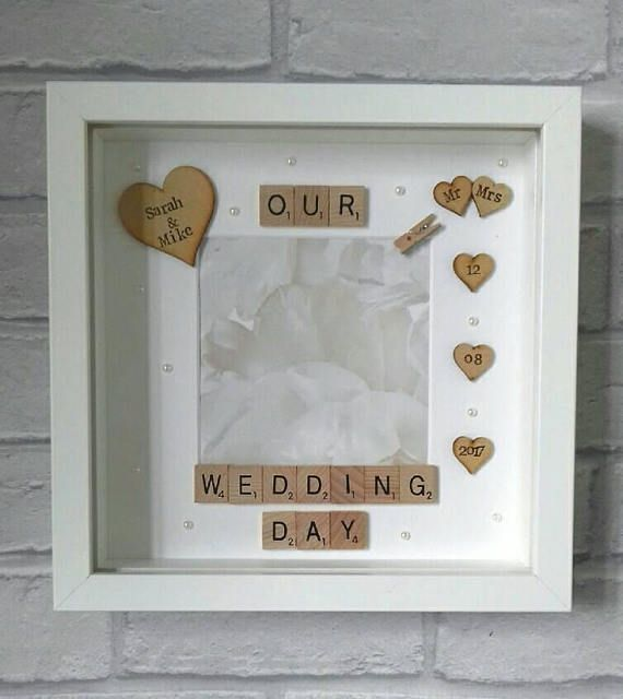 Check out this item in my Etsy shop https://www.etsy.com/uk/listing/525090373/wedding-giftwedding-framepersonalised