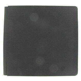 "the Paper Studio 12"" x 12"" Black Cloth Strap Hinge Scrapbook Album | Shop Hobby Lobby - Creative Memories alternative"