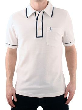 Original Penguin Pure White Earl Polo Shirt Original Penguin Earl Polo Shirt - Mens pique polo shirt from Original Penguin - Button-up neck with contrast trim - Pocket to chest with stitched logo - Product Code: OPEARLPWH - Material: 100% Cotto http://www.comparestoreprices.co.uk/mens-clothes/original-penguin-pure-white-earl-polo-shirt.asp