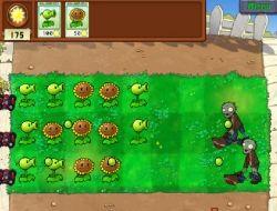Plante vs Zombii
