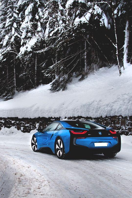 Italian Luxury: U201c Ice Cold BMW I8 By Pieter Ameye U201d