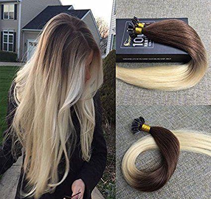 balmain hair extensions keratine 100