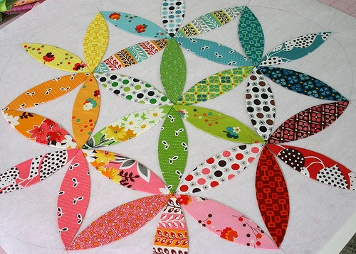 Pillow - layout option 1 by twinfibers, via Flickr