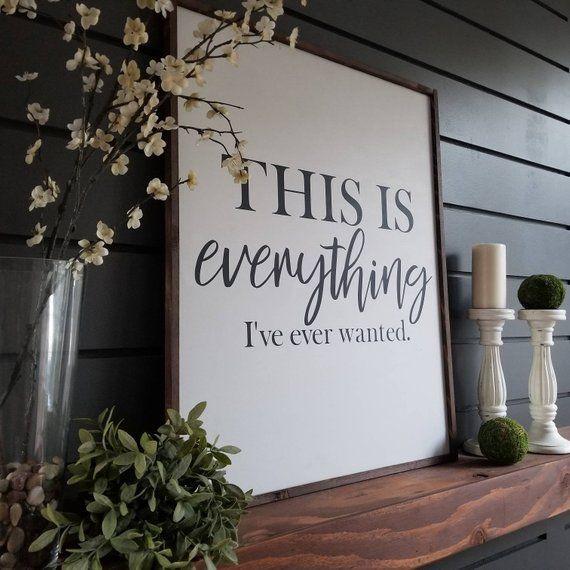 Farmhouse Decor 30 x 40 Shown in Espresso Stain Rustic Wood Framed Chalkboard