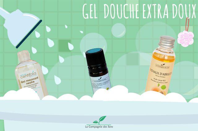 Réaliser un bon gel douche extra-doux pour les enfants avec des huiles essentielles et végétales !