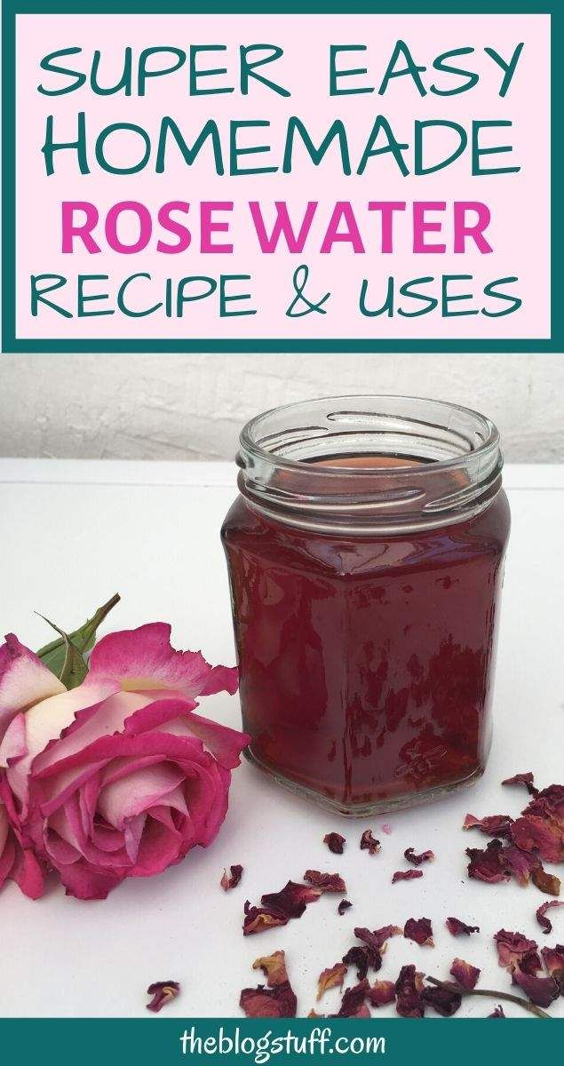 Homemade Rose Water Toner With Fresh Dried Rose Petals Multiple Uses In 2020 Homemade Rose Water Dried Rose Petals Rose Water Toner