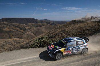 Sébastien Ogier 2ème du rallye du Mexique