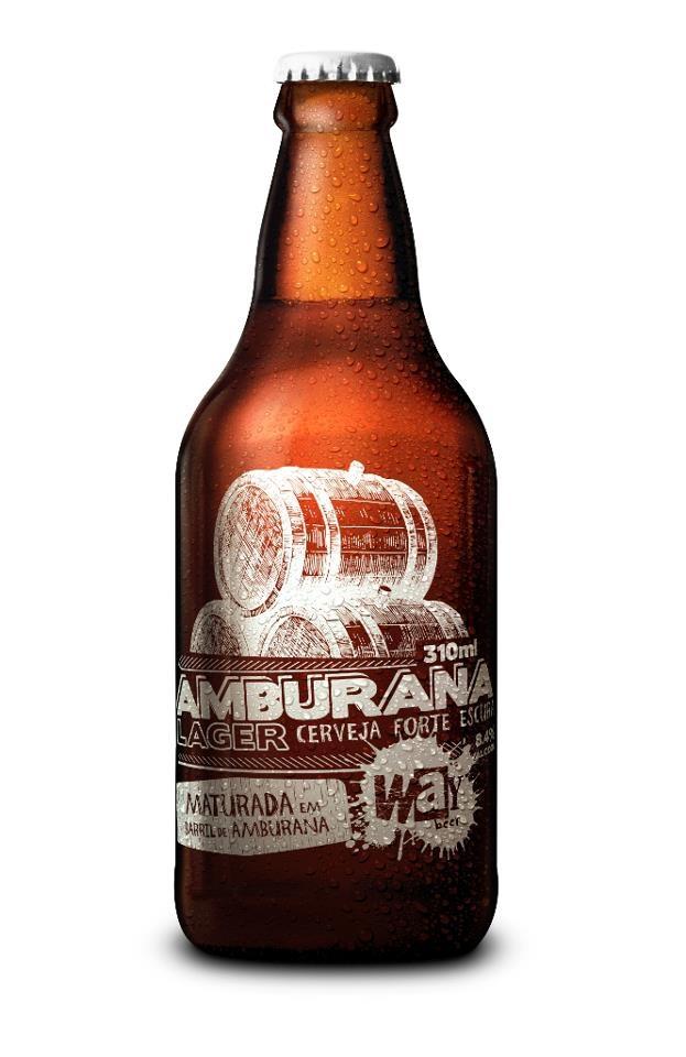 Amburana Lager. Cervejaria Way Beer. Curitiba-PR. #brazil #beer