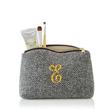20 Bridal Shower Hostess Gifts Under $50: Personalized  Pouch