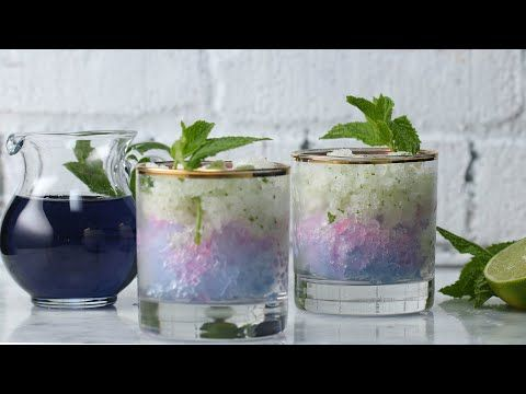 Color-Changing Frozen Mojito - YouTube