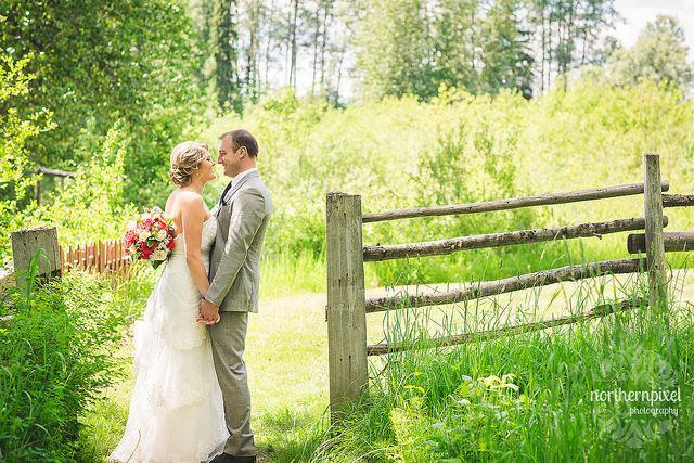Huble Homestead Wedding - Prince George British Columbia Wedding