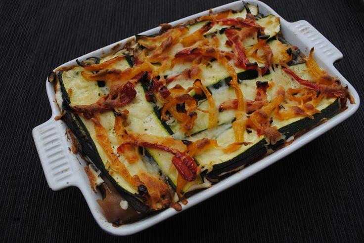 Roasted Vegetable Lasagne, just 203 calories per serving!