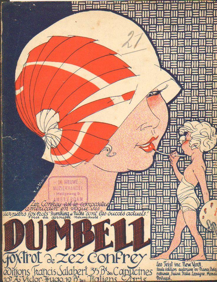 187 Best European Art Nouveau And Art Deco Sheet Music