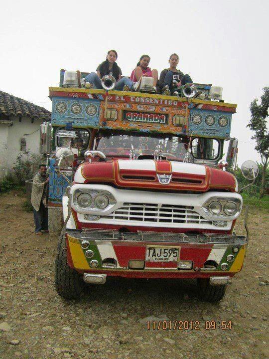 Chiva de pueblo, Granada, Antioquia, Colombia
