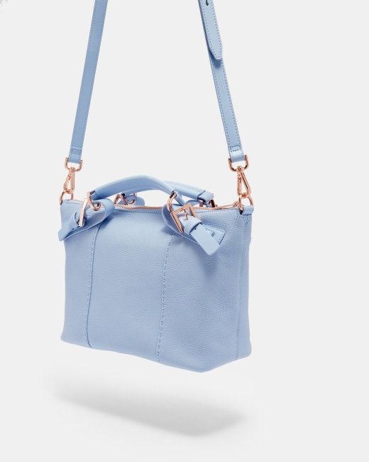 0faa1062f Ted Baker SALBETT Bridle handle small leather tote bag