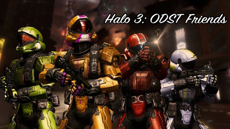 some friends play halo 3 ODST and nothing goes wrong