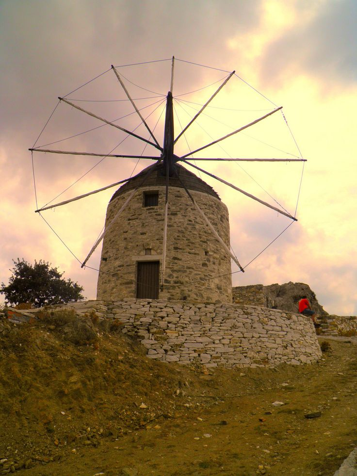 naxos windmill