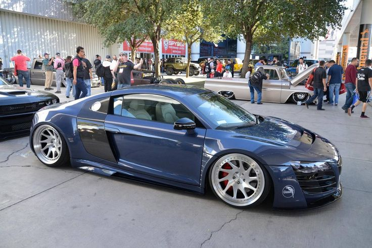 SEMA 2015 Audi R8 widebody