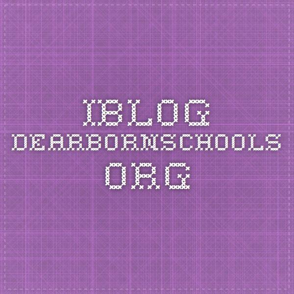 iblog.dearbornschools.org