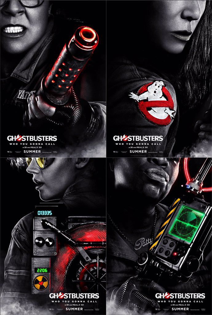 Ghostbusters. Thoroughly enjoyed this one.