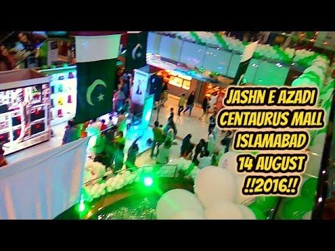 jashn e azadi Centaurus Mall Islamabad 14 August !!2016!!  Pakistan had obtained its independence from the British Raj the 14th of August 1947. 23 March was originally supposed to commemorate the adoption of the first constitution of Pakistan and thus the declaration of Pakistan as a republic. However, Field Marshal Ayub Khan abrogated the constitution and declared martial law. Khan's regime, in order to justify celebrating the national day, changed it to commemorate the 1940 landmark…