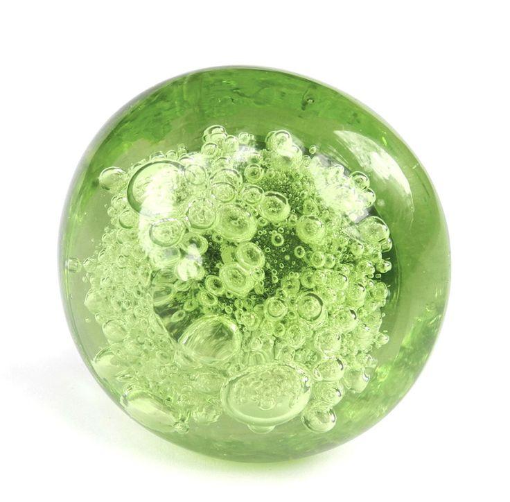 12 Green Glass Bubble Knob Kitchen Cabinet Drawer Pull Furniture Handle  #K134 #romanticdecor #