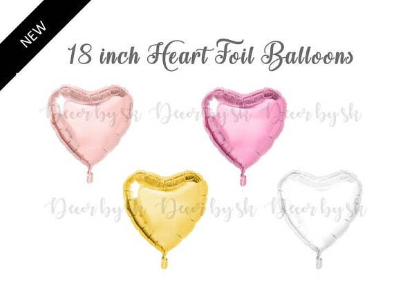Check out this item in my Etsy shop https://www.etsy.com/listing/522108818/18-inch-heart-balloon-gold-rose-gold